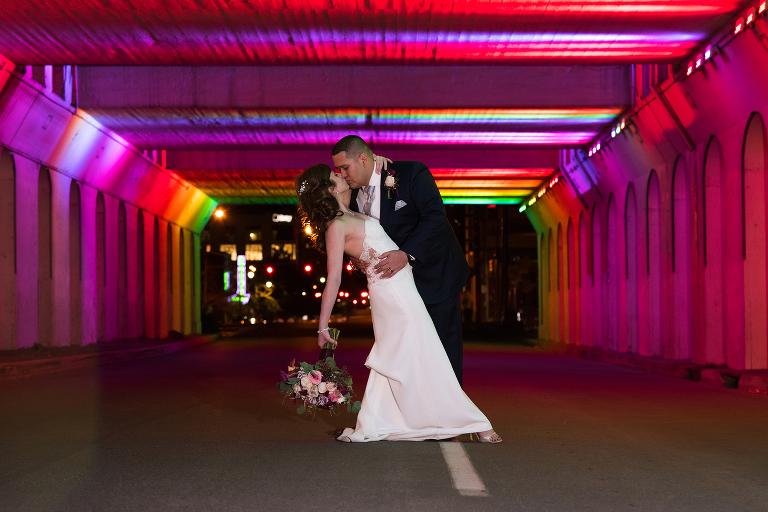 Birmingham AL Engagement Photographer Light Tunnel