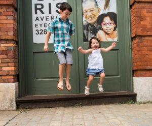 Morris Ave, Birmingham, AL Family Photoshoot - kids, babies