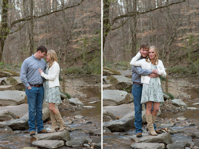Jemison Park Birmingham, AL Engagement Photoshoot