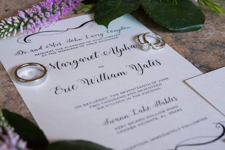 rustic elegant wedding at swann lake stables birmingham al amy