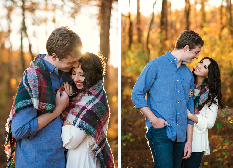 Engagement Photography Session at Walker County Lake in Jasper, Alabama