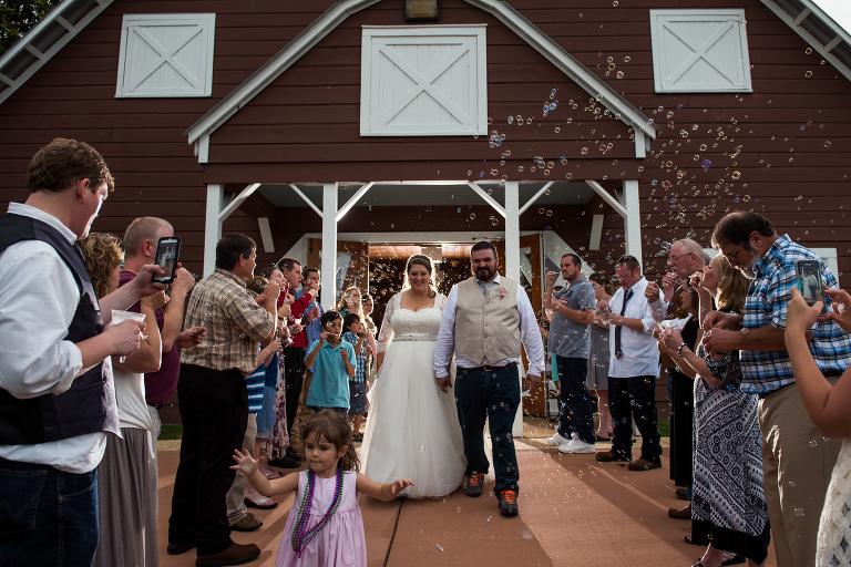 Wedding At American Village In Montevallo Al The Reception Barn